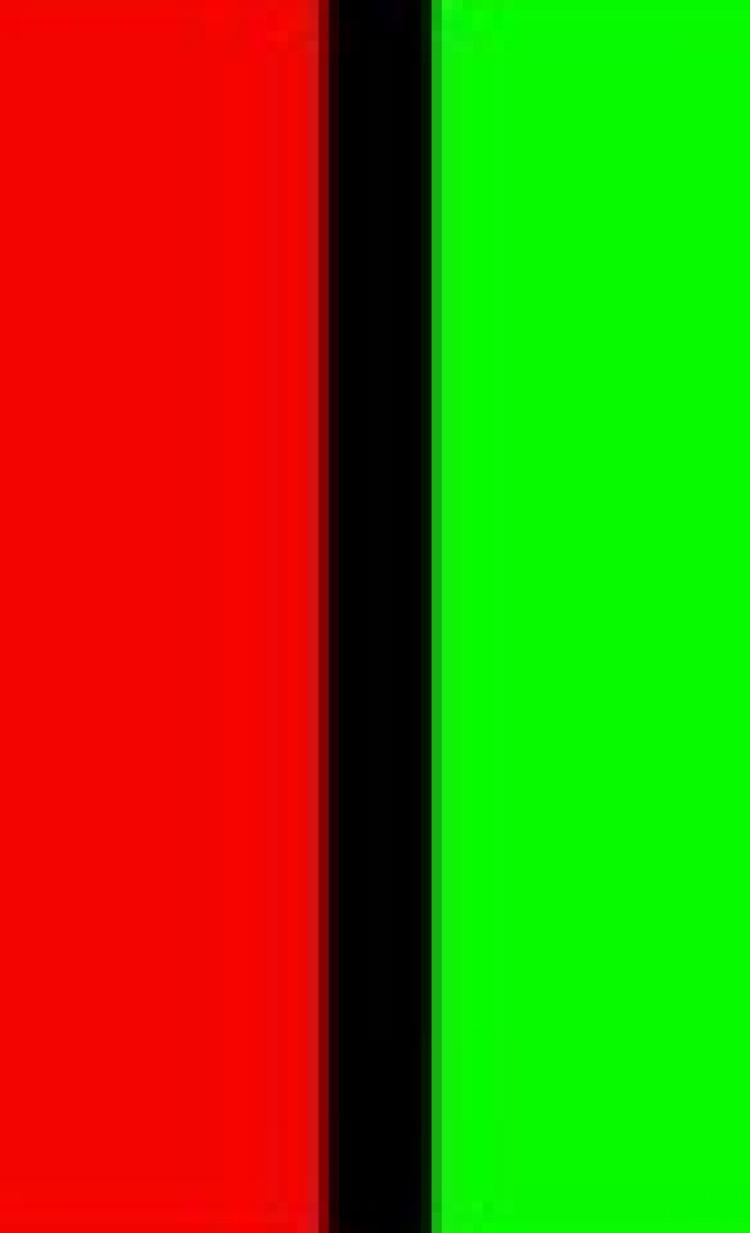groen en rood vlak