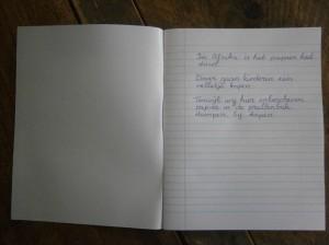 Dankbaarheid schrift contrast Afrika