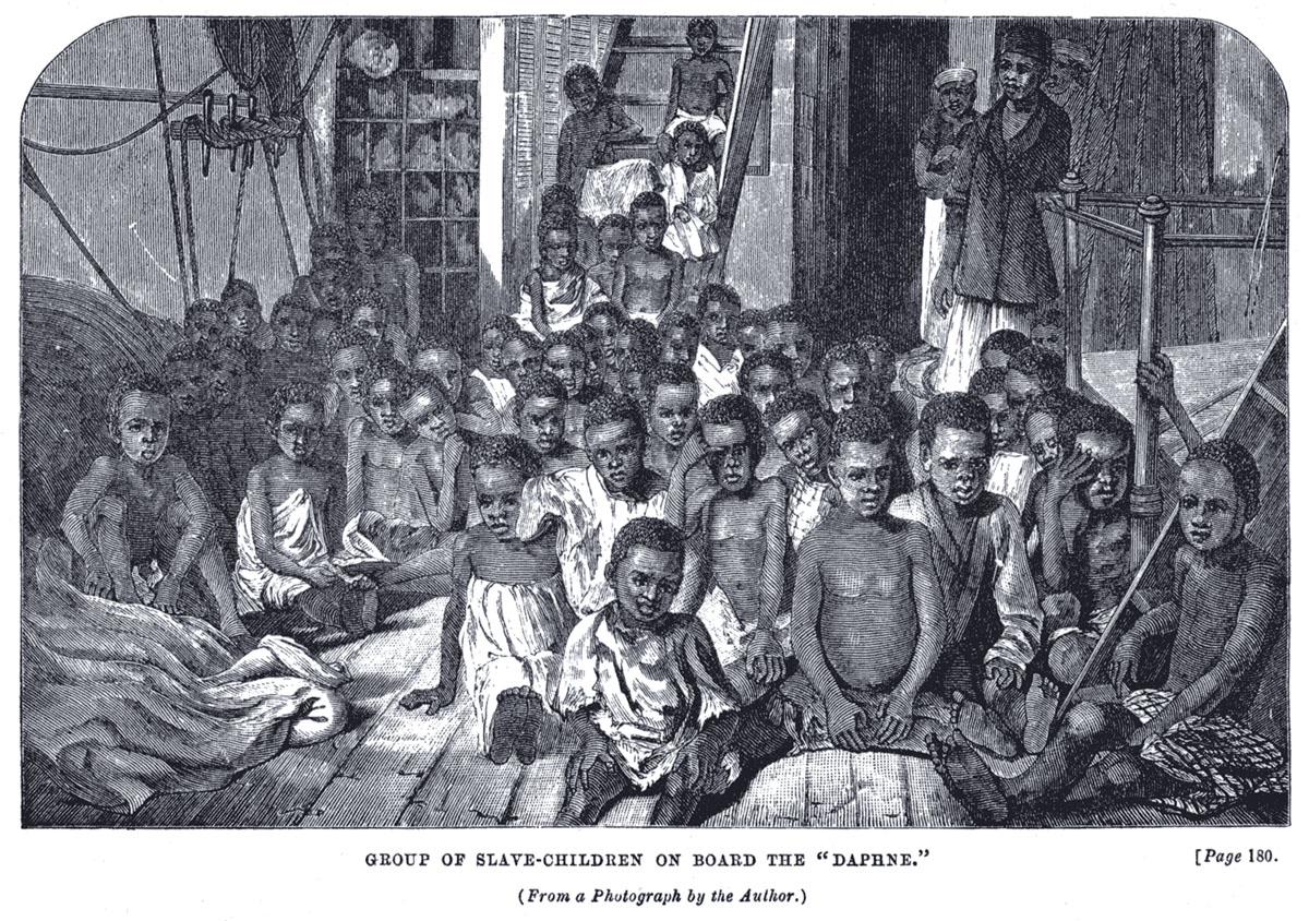 kinder slaven boot