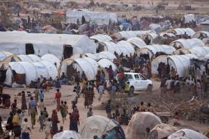 vluchtelingenkamp afrika