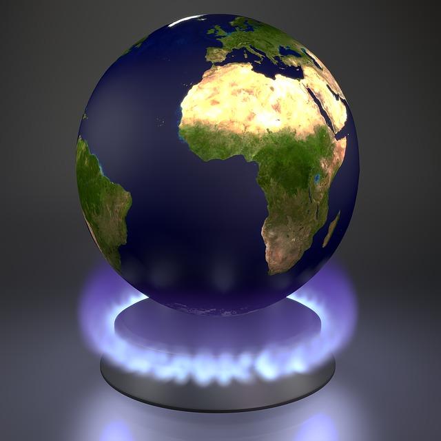 Het klimaat verandert de wereld