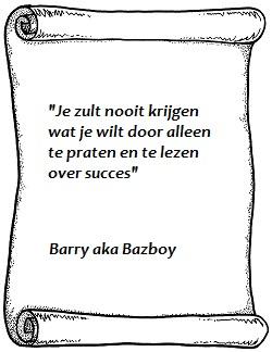 Je zult nooit krijgen Barry - Bazboy