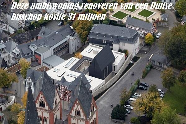 Deze ambtswoning renoveren van een Duitse bisschop kostte 31 miljoen