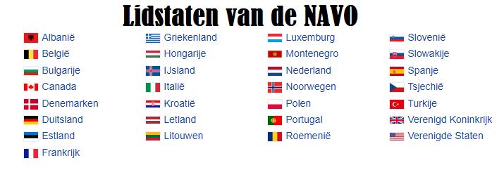Lidstaten van de Navo